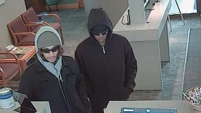 West Bank robbery suspects
