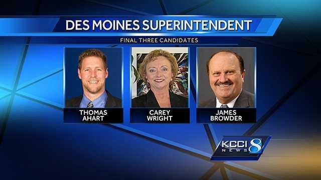 Des Moines school superintendent candidates