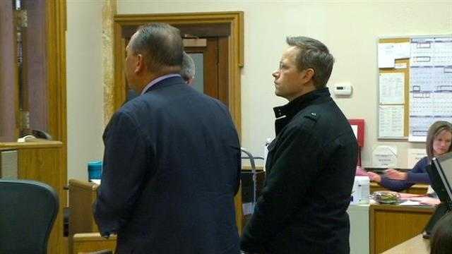 David Glenn Smith in court