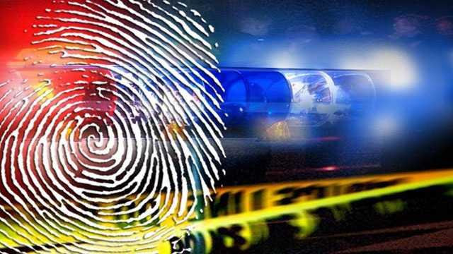 Crime generic lights fingerprint investigation