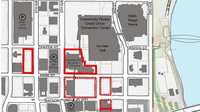 Hotel plans map