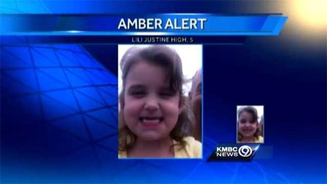 KC amber alert girl