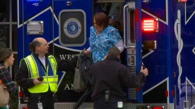 Chemical spill sends workers to hospital