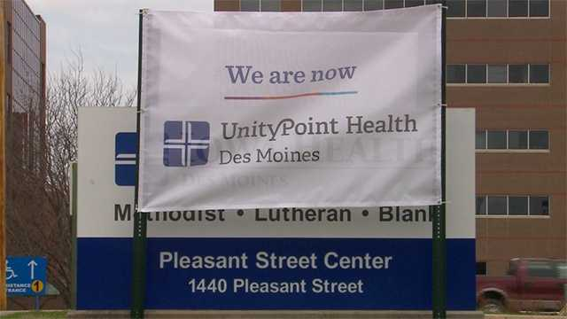 UnityPoint new sign temporary