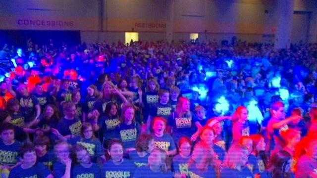 7,000 Iowa kids attend Exercise Your Character
