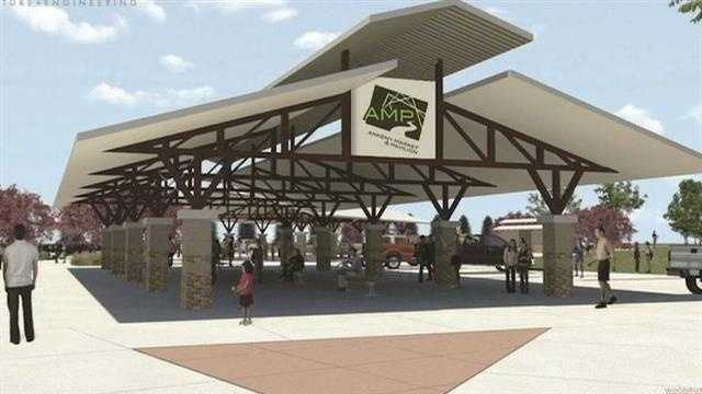 Plans for the $1.5 million Ankeny Market and Pavilion are beginning to take shape.