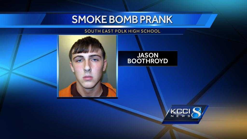 Jason smoke bomb prank