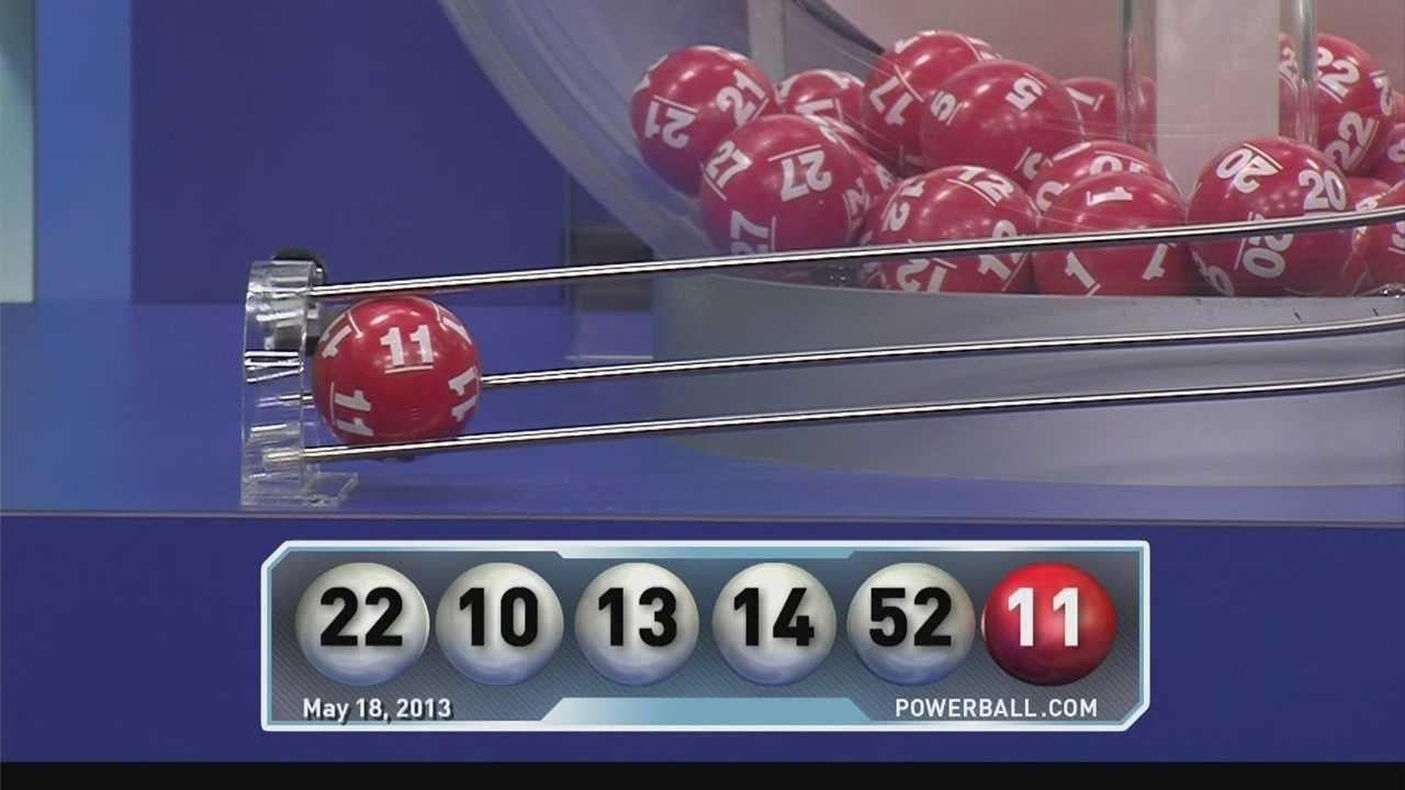Record $590.5 million Powerball drawing held Saturday night