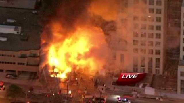 KMBC plaza explosion