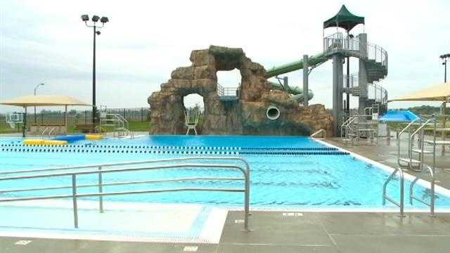 Ankeny aquatic center empty