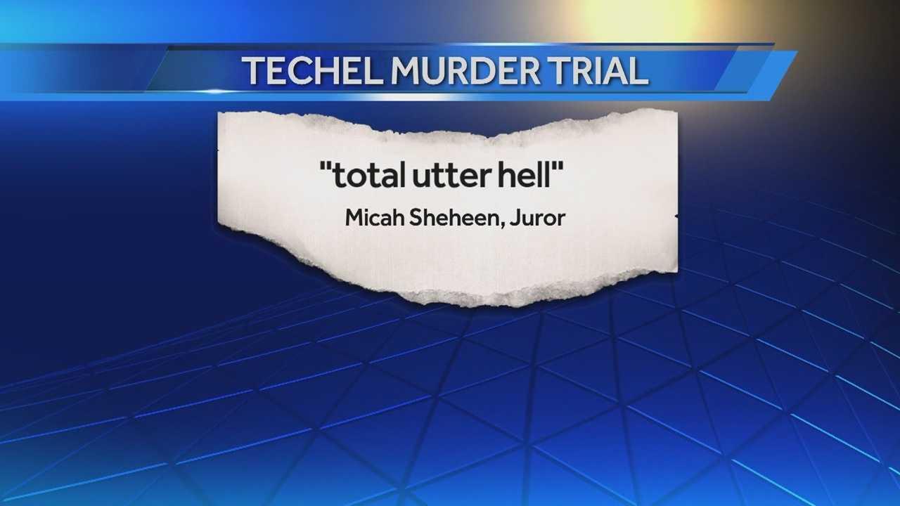 Techel trial juror calls deliberations 'total utter hell'