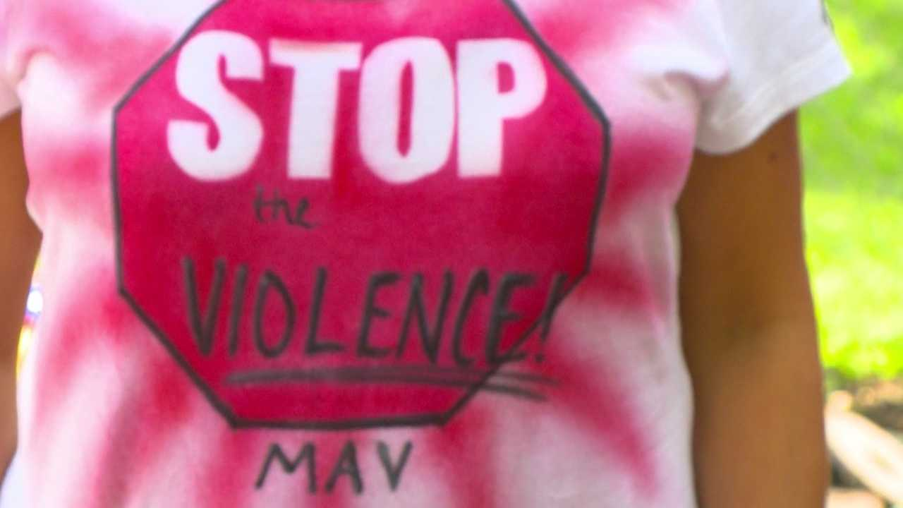 Moms march to end violence