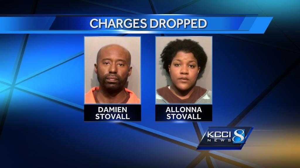 Stovall charges dropped