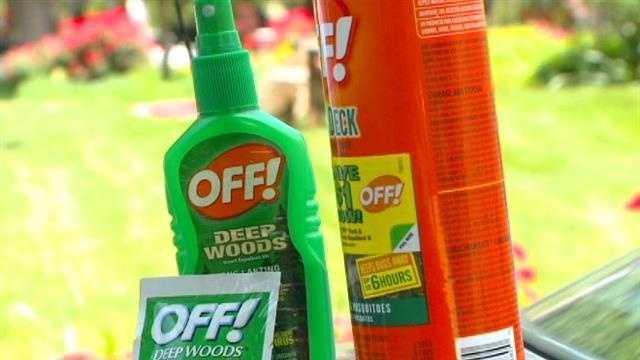 Bug repellent DEET