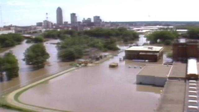 As the 20th anniversary passes, a look back at the Floods of 1993 in Des Moines, Iowa.