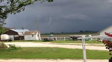 Angela Viebrock captured this photo in NE Webster Co just west of Vincent.
