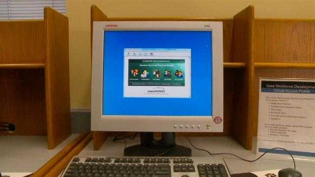 Library pulls plug on unemployment kiosks