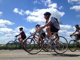 RAGBRAI headed to Knoxville, near Monroe