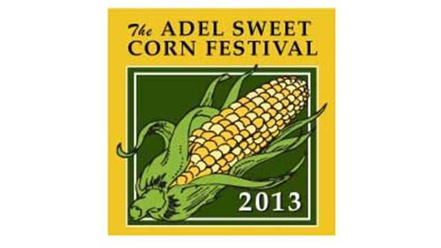 Adel sweet corn festival logo