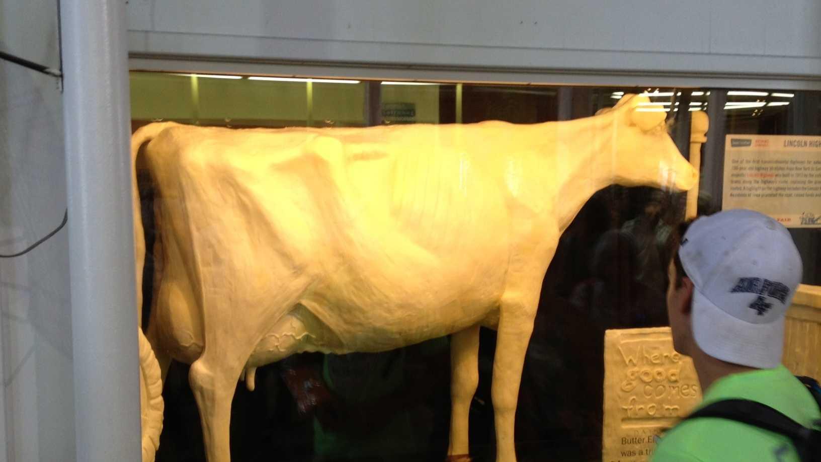 iowa state fair butter cow.JPG