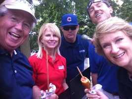 The KCCI crew at the Iowa State Fair