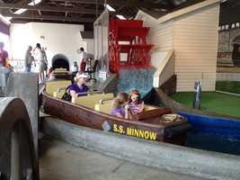 Iowa State Fair's Ye Old Mill