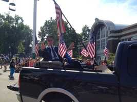Veterans Parade at the Iowa State Fair