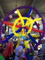 Iowa State Fair balloon exhibit