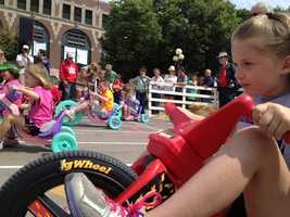Iowa State Fair big wheel races
