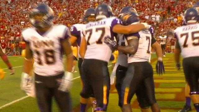 UNI's David Johnson ran wild as the Cyclones started the season with a loss.