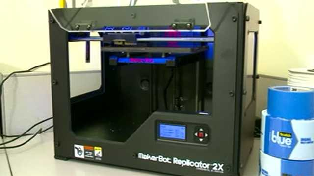3D printer ankeny library