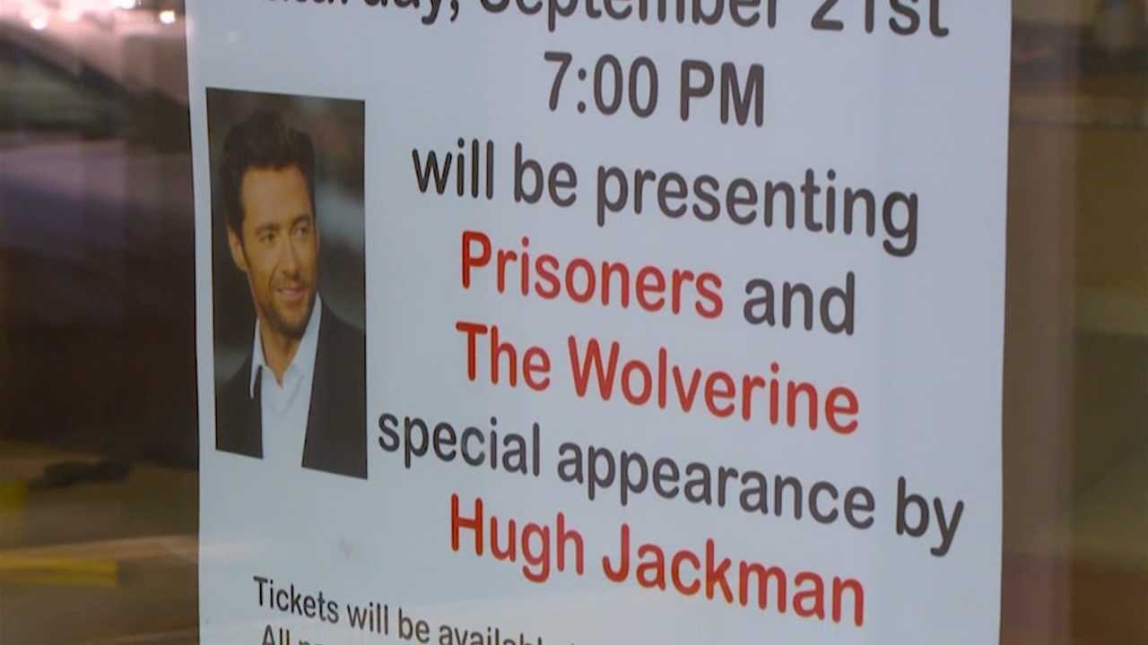 Iowa town preps for Hugh Jackman apperance