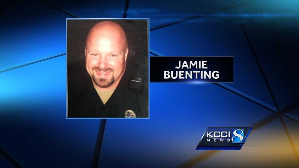 Rockwell City police officer Jamie Buenting