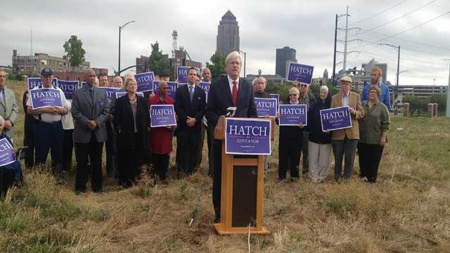 jack hatch governor announcement