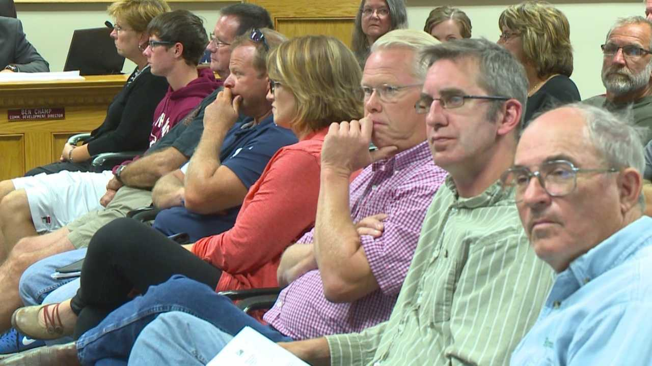 Council meeting talks about proposed warehouse plans