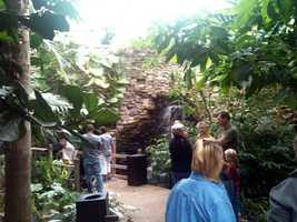 Free admission was offered on the reopening day, Sept. 28.
