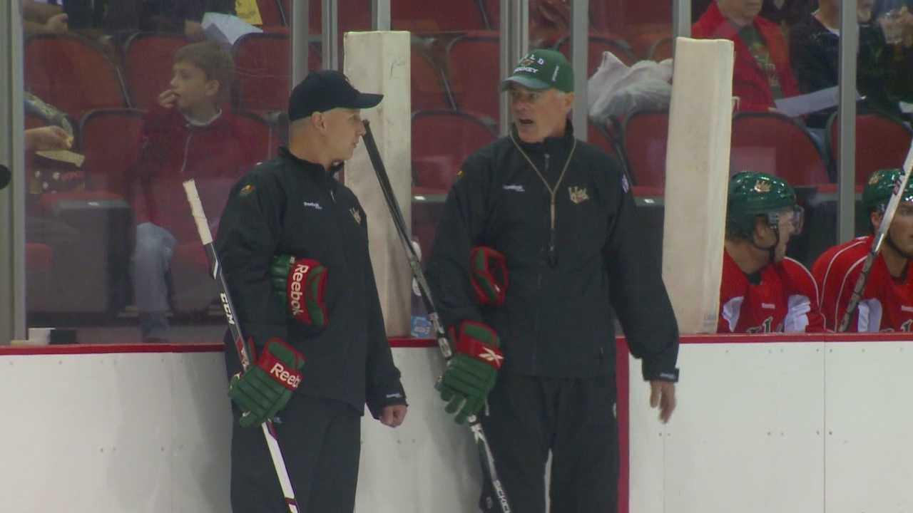 Iowa Wild coach continues mission
