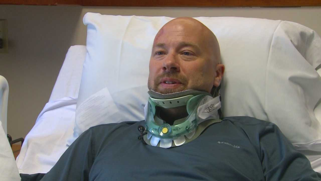 Cyclist talks about his focus after hit-and-run