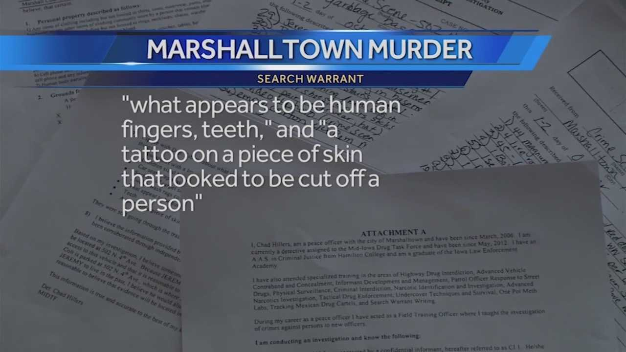 A December trial has been scheduled for a 30-year-old Marshalltown man charged with murder.
