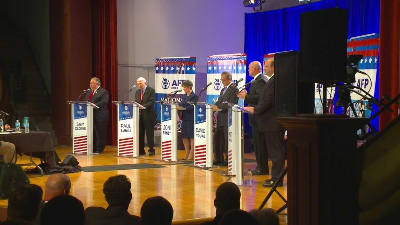 GOP holds debate for Sen. Harkin's seat