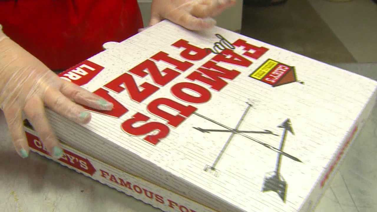 New Casey's pizza stores on the way