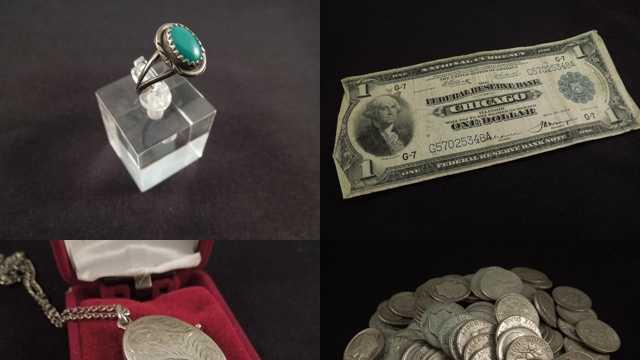 Treasure auction