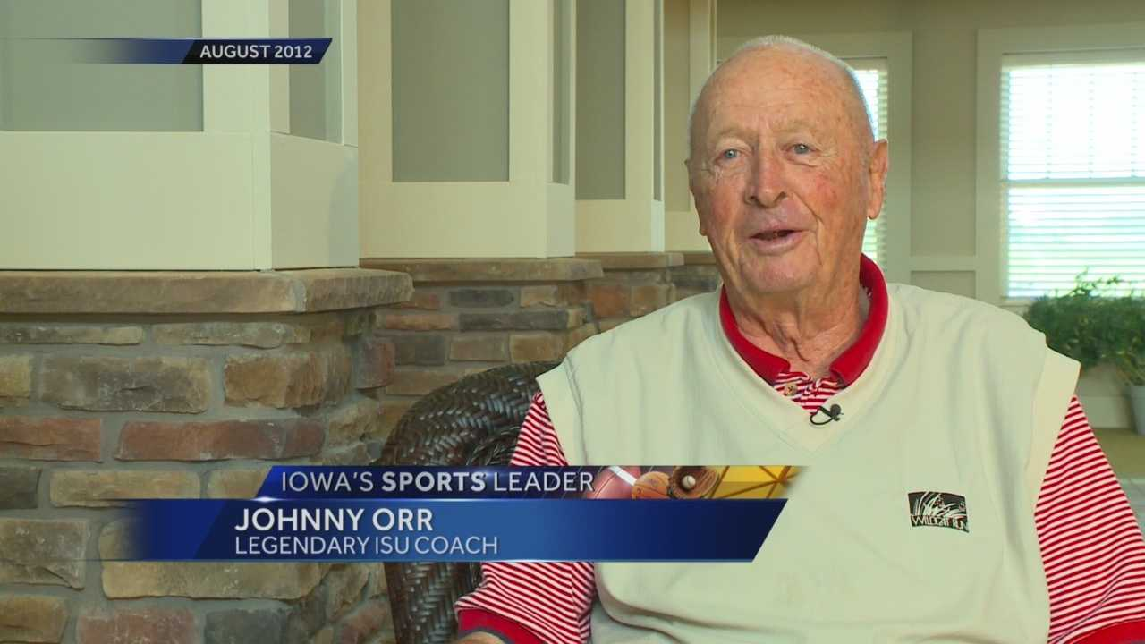 ISU coach Johnny Orr dies