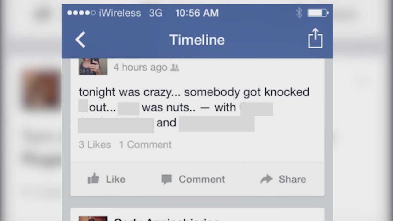 Photos on social media upset beaten teen