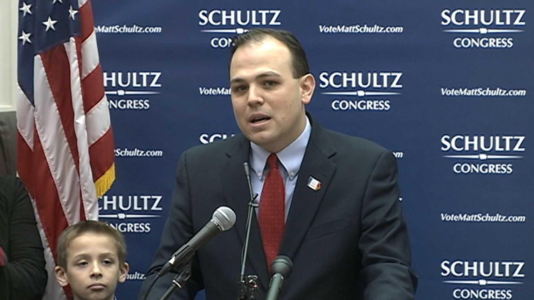 Matt Schultz campaign announcement