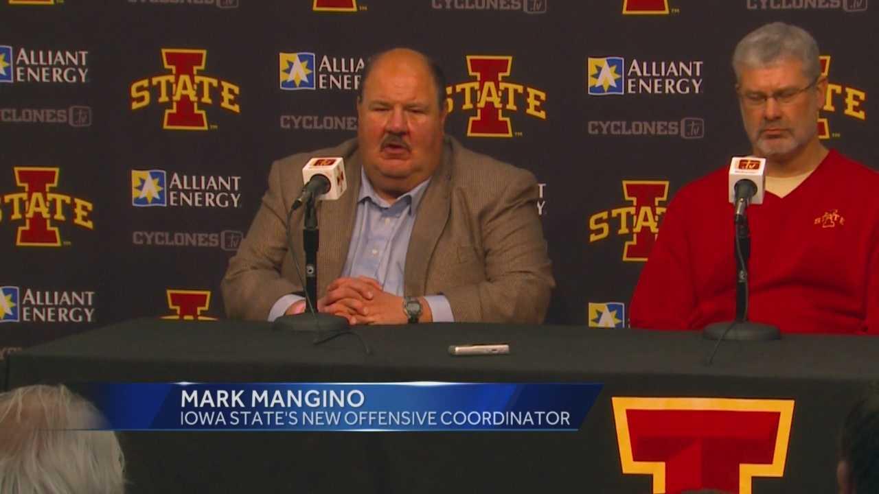 ISU introduces new coach Mark Mangino