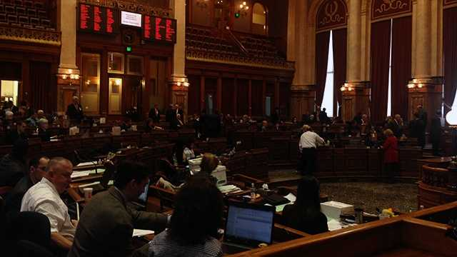 iowa legislature opening day 1 house