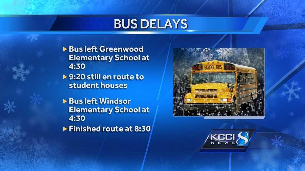 delays graphic