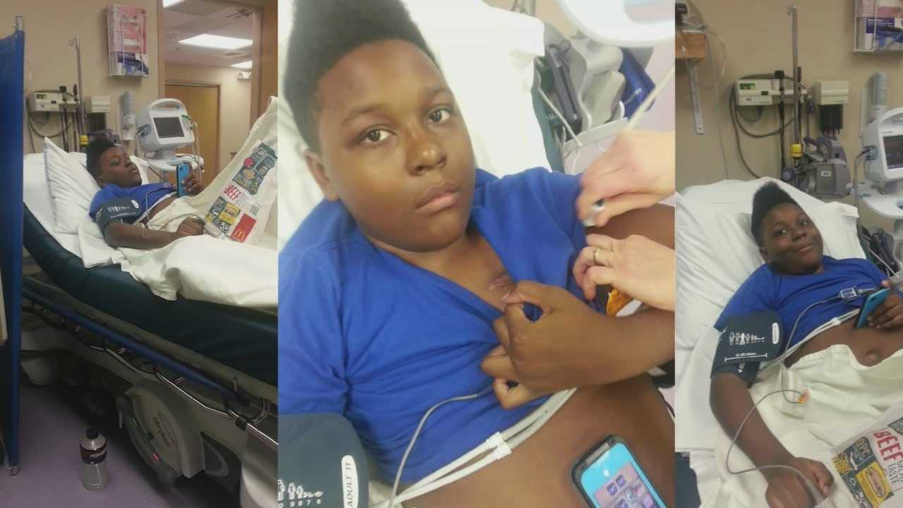 Teen in need gives back with blood drive