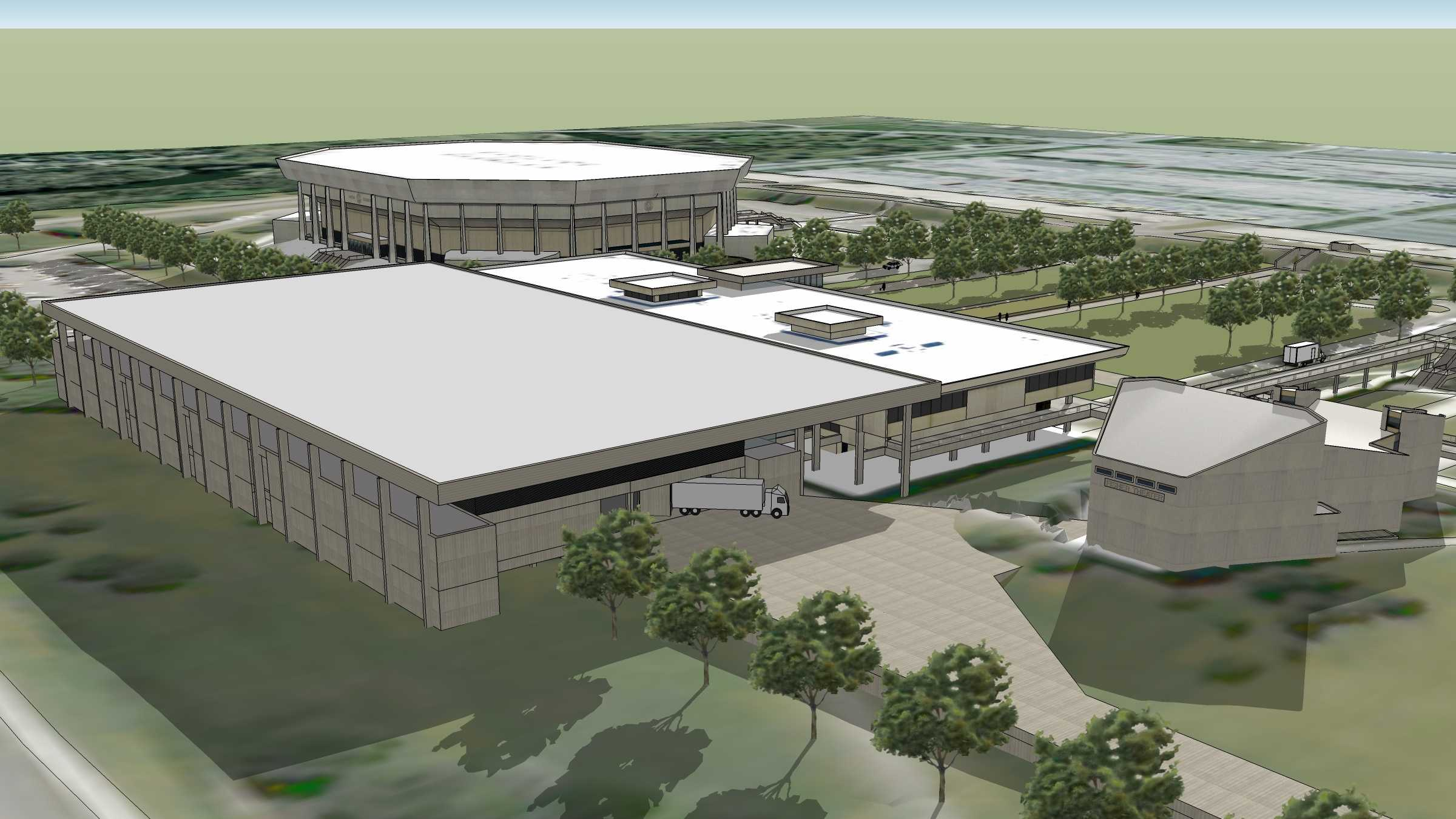 New convention center at ISU Center